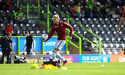Bradford City players warm up prior to kick-off - Mandatory by-line: Nizaam Jones/JMP - 19/09/2020 - FOOTBALL - New Lawn Stadium - Nailsworth, England - Forest Green Rovers v Bradford City - Sky Bet League Two