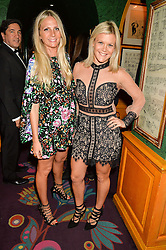 Left to right, MADDIE CHESTERTON and OLIVIA PERRY at the 2nd Bright Young Things Back In London party held at Annabel's, 44 Berkeley Square, London on 11th February 2016.