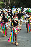 """Panagbenga Festival is a month long annual flower festival occurring in Baguio during the month of February.  The term means """"season of blooming"""".  The festival is held during the month of February and was created as a tribute to the city's flowers and as a way to rise up from the devastation of the 1990 earthquake.  The festival includes floats that are decorated with flowers and also includes street dancing, presented by dancers clad in flower inspired costumes, with a nod to the Bendian, an Ibaloi dance of celebration that came from the Cordillera region.  The festival has also helped the younger generation of indigenous people to rediscover their culture's traditions."""