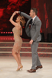 """Rome, Josh Brolin and Ryan Reynolds guests of the TV show """"Dancing with the Stars"""". Pictured: Ryan Reynolds dances with Samanta Togni"""