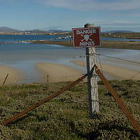 Minefields laid by the Argentine army during the Falklands (Malvinas) War are a widespread threat around Port Stanley and other parts of the Falkland Islands.