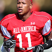 Ryan Shazier during the practice session at the Walt Disney Wide World of Sports Complex in preparation for the Under Armour All-America high school football game on December 3, 2011 in Lake Buena Vista, Florida. (AP Photo/Alex Menendez)