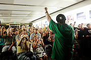 "Ernie Bordon, ""EbGb,"" gives a performance at the Apple Store in Naples, Fla. as iTunes featured artist. EbGb says he gives the same performance for 10 people as he would for 10,000. ""I make music that I would like, even if it wasn't my own shit. I think more people should do that. When you make music for yourself?you're going to touch certain people. You have to do you, 100 per cent of the time."""