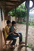 Above Dhading, Pasupati School. Grade 9 and 10 have extra lessons in their summer break from 6am-10am to prepare them for their finals.