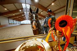 Visser Tommie, NED, Chuppy Checker CL<br /> Stud Farm de Begijnhoeve - Retie 2018<br /> © Hippo Foto - Dirk Caremans<br /> 03/01/2018