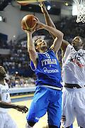 PAU 27 GIUGNO 2012<br /> BASKET <br /> ITALIA SPERIMENTALE - FRANCIA<br /> NELLA FOTO RICCARDO MORASCHINI<br /> FOTO CIAMILLO