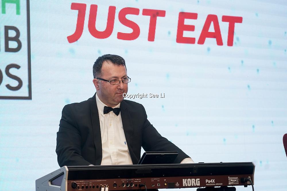 Musicians preforms at the 5th British Kebab Awards at Park Plaza Westminster ,London,UK. by See Li