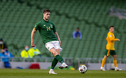 DUBLIN, REPUBLIC OF IRELAND - Sunday, October 11, 2020: Republic of Ireland's Kevin Long during the UEFA Nations League Group Stage League B Group 4 match between Republic of Ireland and Wales at the Aviva Stadium. The game ended in a 0-0 draw. (Pic by David Rawcliffe/Propaganda)
