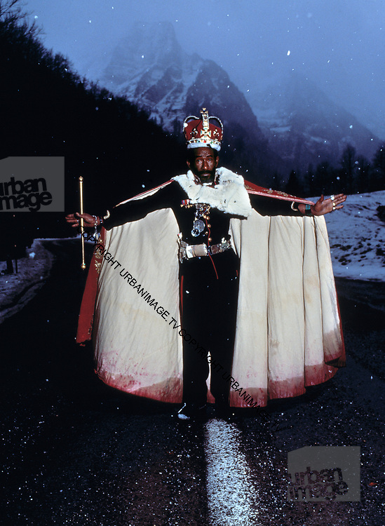 Lee Scratch Perry   Zurich - 1989 photosession for Secret Laboratory
