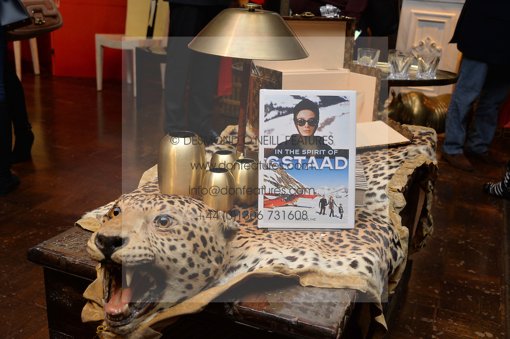 ***UK_MAGAZINES_OUT***<br /> LONDON, ENGLAND 30 NOVEMBER 2016: <br /> Atmosphere at the launch of In The Spirit of Gstaad at Maison Assouline, Piccadilly, London hosted by Mandolyna Theodoracopulos and Homera Sahni England. 30 November 2016.