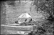 Greg Supra and Dotty Smith, May morning Oxford. 1 May 1983.