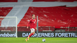 Christian Eriksen (Danmark) under kampen i Nations League mellem Danmark og Island den 15. november 2020 i Parken, København (Foto: Claus Birch).