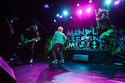 Mindless Self Indulgence performs at Irving Plaza in New York City on 25 March 2014.