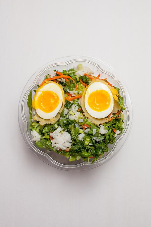Ginger Scallion Arugula Salad from honeygrow ($9.72)