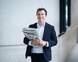 6th February 2019 - announced that . Sam Coates is to join Sky News as deputy news editor.<br /> <br /> <br /> The Andrew Marr Show <br /> at the BBC, Broadcasting House, London, Great Britain <br /> 9th September 2018 <br /> <br /> <br /> Sam Coates, deputy political editor of The Times. <br /> <br /> <br /> <br /> Photograph by Elliott Franks