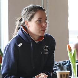 19-02-2020: Wielrennen: persmoment KNWU: Alkmaar <br />Laurine van Riessen