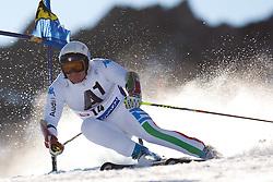 23.10.2011, Rettenbachferner, Soelden, AUT, FIS World Cup Ski Alpin, Herren, Riesenslalom, im Bild Massimiliano Blardone (ITA) // during Mens ginat Slalom at FIS Worldcup Ski Alpin at the Rettenbachferner in Solden on 23/10/2011. EXPA Pictures © 2011, PhotoCredit: EXPA/ Johann Groder
