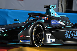 May 11, 2019 - Monaco, Monaco - 17 English driver Gary Paffett of HWA AG Racing drive her single-seater during the 3rd edition of Monaco E-Prix, in port neighborhood in Monaco, France  (Credit Image: © Andrea Diodato/NurPhoto via ZUMA Press)