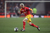 FOOTBALL - FRENCH CHAMPIONSHIP 2009/2010  - L1 - RC LENS v AS SAINT ETIENNE - 22/12/2009 - PHOTO DPPA / DPPI - YOHAN DEMONT (LENS)