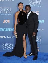 Eniko Parris, Kevin Hart  bei der Verleihung der 22. Critics' Choice Awards in Los Angeles / 111216