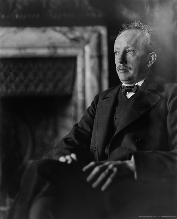 Richard Strauss, composer and conductor, Germany, c1909