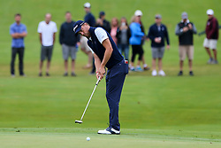 September 8, 2018 - Newtown Square, Pennsylvania, United States - Justin Thomas putts the 10th green during the third round of the 2018 BMW Championship. (Credit Image: © Debby Wong/ZUMA Wire)