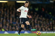 Jan Vertonghen of Tottenham Hotspur in action. Premier league match, Chelsea v Tottenham Hotspur at Stamford Bridge in London on Saturday 26th November 2016.<br /> pic by John Patrick Fletcher, Andrew Orchard sports photography.
