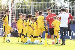 August 28, 2017 - Rapperswil, Schweiz - Rapperswil, 28.08.2017, Fussball - Training Schweizer Nationalmannschaft, Xherdan Shaqiri während dem Training. (Credit Image: © Melanie Duchene/EQ Images via ZUMA Press)