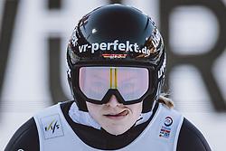 25.02.2021, Oberstdorf, GER, FIS Weltmeisterschaften Ski Nordisch, Oberstdorf 2021, Damen, Skisprung, HS106, Einzelbewerb, im Bild Anna Rupprecht (GER) // Anna Rupprecht of Germany during women ski Jumping HS106 single Competition of FIS Nordic Ski World Championships 2021. Oberstdorf, Germany on 2021/02/25. EXPA Pictures © 2021, PhotoCredit: EXPA/ JFK
