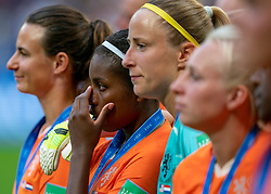 07-07-2019 FRA: Final USA - Netherlands, Lyon<br /> FIFA Women's World Cup France final match between United States of America and Netherlands at Parc Olympique Lyonnais. USA won 2-0 / Lineth Beerensteyn #21 of the Netherlands, Loes Geurts #23 of the Netherlands