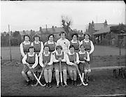 01/04/1960<br /> 04/01/1960<br /> 01 April 1960<br /> Schoolgirl Interprovincial Hockey Munster v Leinster. The Munster Team.