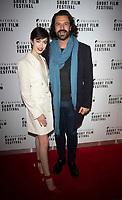 Chanel Joan Elkayam and Christian Vit at the TriForce Short Film Festival gala ceremony, BFI Southbank, London, UK - 30 Nov 2019
