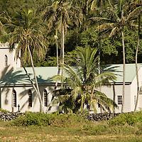 Molokai, Kalaupapa, St Philomena Church