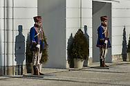 Guards at the Grassalkovich Palace, Bratislava, Slovakia