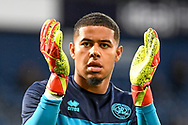 QPR goalkeeper Seny Dieng (1) during the EFL Sky Bet Championship match between West Bromwich Albion and Queens Park Rangers at The Hawthorns, West Bromwich, England on 24 September 2021.