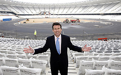 File photo dated 15-03-2011 of Sebastian Coe at the Olympic stadium in East London, on the day tickets go on sale for the 2012 London Olympics.
