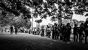 """People waiting in queues to visit the remamins of Venezuela's President, Hugo Chávez in Caracas on the 9th March 2013. The queues to visit the Chávez lasted days and the waiting period could be over 24 hours period as thousands went to pay their last respects. Chávez ruled Venezuela for 14 years, passed away on the 5th March 2013.  He revolutionized not only his nation but also other countries in Latin America, with his political views and what he called the """"21st Century Socialism"""", supported by the petrodollars from Venezuela's massive oil-reserves."""