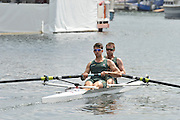 Henley, Great Britain.  The Silver Goblets and Nickall's Challenge Cup.  AUS M2-.     LOCKWOOD and Brodie BUCKLAND Henley Royal Regatta. River Thames Henley Reach.  Royal Regatta. River Thames Henley Reach.  Friday   01/07/2011  [Mandatory Credit Peter Spurrie r/ Intersport Images] 2011 Henley Royal Regatta. HOT. Great Britain . HRR