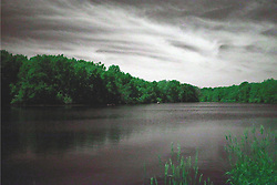 28 May 2015:   Infrared converted image of Evergreen Lake at Comlara Park<br /> <br /> <br /> Image shot with Cokin 89B Filter and post processed for Infrared