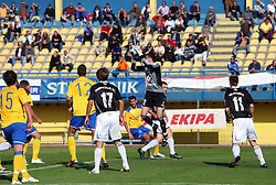 Goalkeeper of Interblock Matjaz Rozman (22) at 12th Round of PrvaLiga Telekom Slovenije between NK Luka Koper vs NK Interblock, on October 4, 2008, in SRC Bonifika in Koper, Slovenia. Interblock won the match 4:1. (Photo by Vid Ponikvar / Sportal Images)
