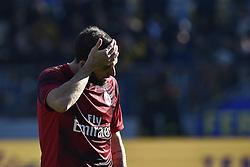 December 26, 2018 - Frosinone, Frosinone, Italy - Gonzalo Higuain of Milan looks dejected during the Serie A match between Frosinone and AC Milan at Stadio Benito Stirpe, Frosinone, Italy on 26 December 2018. (Credit Image: © Giuseppe Maffia/NurPhoto via ZUMA Press)