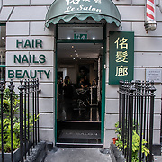 Le Salon in London Chinatown Sweet Tooth Cafe and Restaurant at Newport Court and Garret Street on 15 June 2019, UK.
