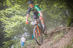 Krese Jure of MTB Trail Center during the race of XCO National Championship of Slovenia 2021 on 27.06.2021 in Kamnik, Slovenia. Photo by Urban Meglič / Sportida