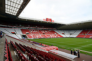 General view of the Stadium of Light before the EFL Sky Bet League 1 match between Sunderland and Portsmouth at the Stadium Of Light, Sunderland, England on 27 April 2019.