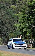 Dean Herridge & Chris Murphy .2008 Subaru Impreza STI.Day 1.Targa Wrest Point 2009.Southern Tasmania.31st of January 2009.(C) Joel Strickland Photographics.
