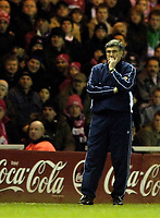 Photo: Jed Wee.<br /> Middlesbrough v Nuneaton Borough. The FA Cup. 17/01/2006.<br /> <br /> Nuneaton manager Roger Ashby is unable to prevent his side being overrun by Middlesbrough.