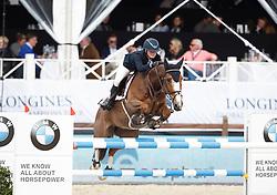 Andries Stephanie, (BEL), Cicero<br /> Global Champions Tour Antwerp 2016<br /> © Hippo Foto - Dirk Caremans<br /> 22/04/16