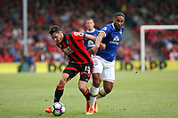 Football - 2016 / 2017 Premier League - AFC Bournemouth vs. Everton<br /> <br /> Bournemouth's Adam Smith holds Ashley Williams of Everton off the ball at Dean Court (The Vitality Stadium) Bournemouth<br /> <br /> Colorsport/Shaun Boggust