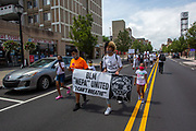 Wilkes-Barre, PA (July 11, 2020) -- Several dozen people marched to Public Square with Black Lives Matter NEPA United Movement.
