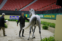 Philippaerts Ludo (BEL) - Cavalor's Winningmood<br /> Veterinary Inspection<br /> World Cup Final Las Vegas<br /> Photo © Dirk Caremans